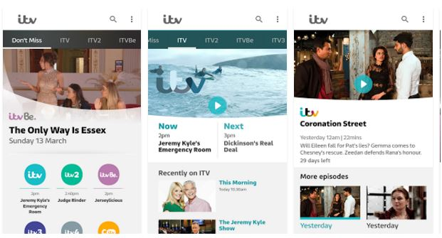 Stream live, Get Exclusive Videos and Shows with ITV Player