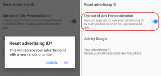 learn to reset advertising