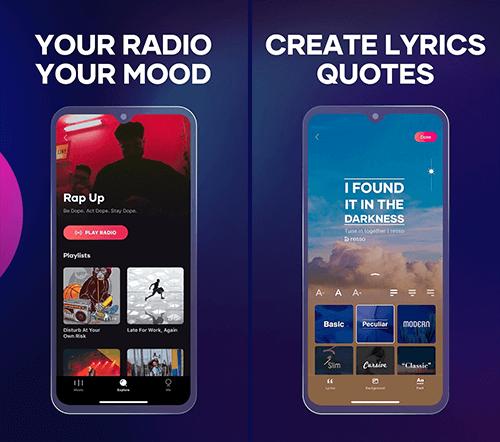 Resso Premium APK ti offre un'ampia selezione di canali radio