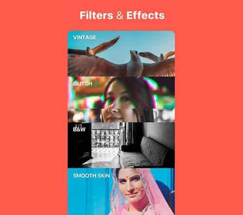 filtros e efeitos desbloqueados
