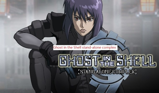 3: Ghost in the Shell stand-alone complex this anime actually ghost related