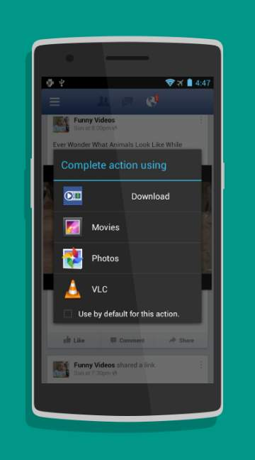 Vlc Download Video From Facebook : download, video, facebook, Video, Downloader, Facebook, Android, Download, Androidfry