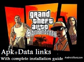 GTA San Andreas APK and Data links (100% Working) - Androidfunz