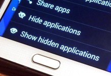 hide photos and apps