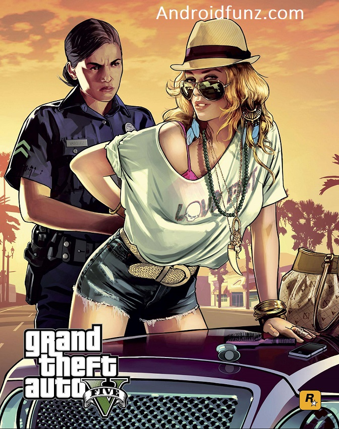 Download GTA 5 Android Official- 2017 Updated v1 0 8 Apk+Obb