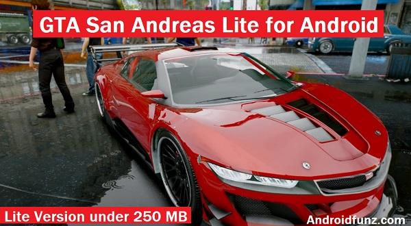 Gta san andreas mod apk lite | 200Mb Gta San Andreas Lite with Cleo