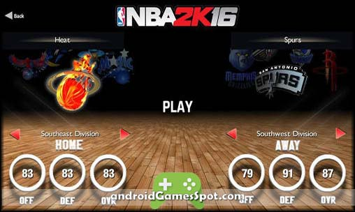 NBA 2K16 free android games apk download
