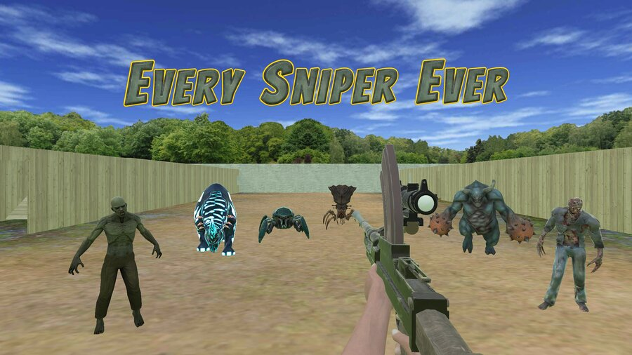 Every Sniper Ever Ultimate Edition