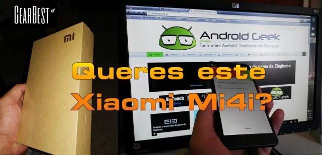 111passatempo mi6i Passatempo Xiaomi Mi4i Gearbest (TERMINADO) image