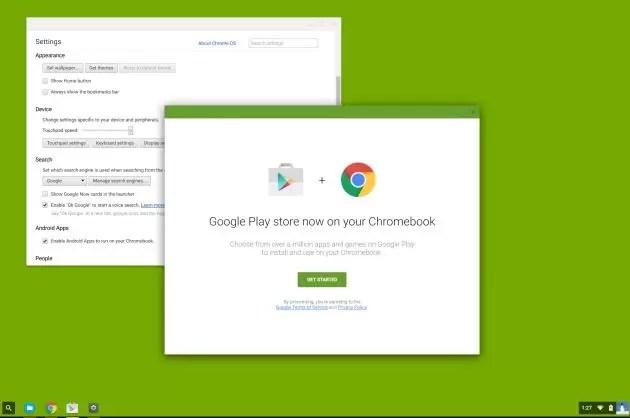 Chrome OS Play Store Google Play Store poderá chegar brevemente ao Chrome OS image