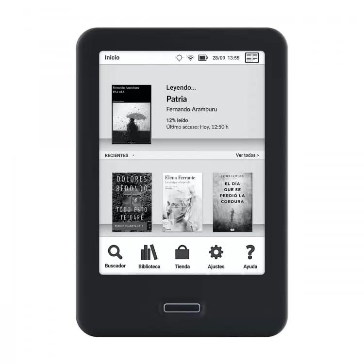 BQ lança o seu novo e-reader Cervantes 4 8
