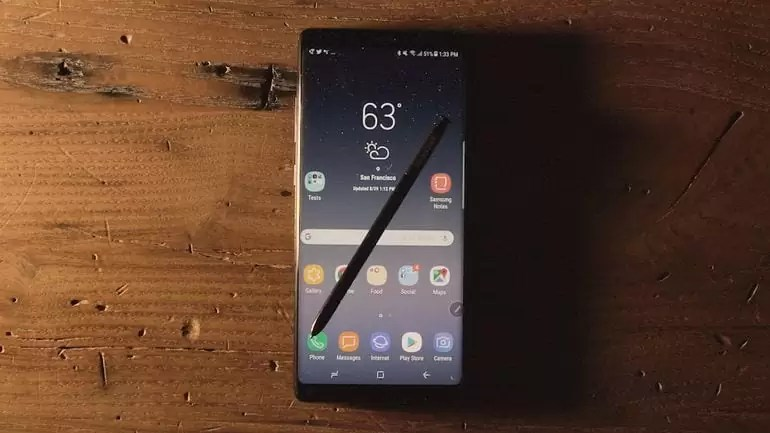 Samsung Galaxy Note8 desbloqueado agora disponível na Microsoft Store 1