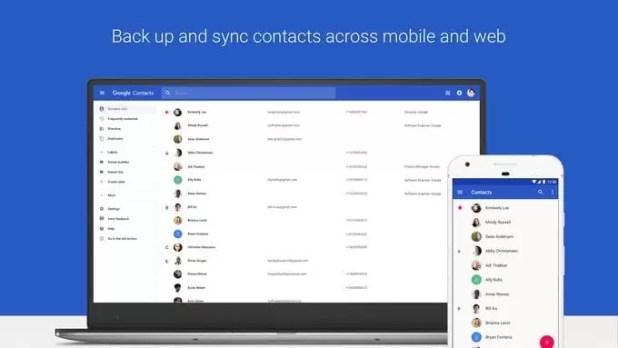 Google Contacts para Android atualizou e vem com algumas novidades image