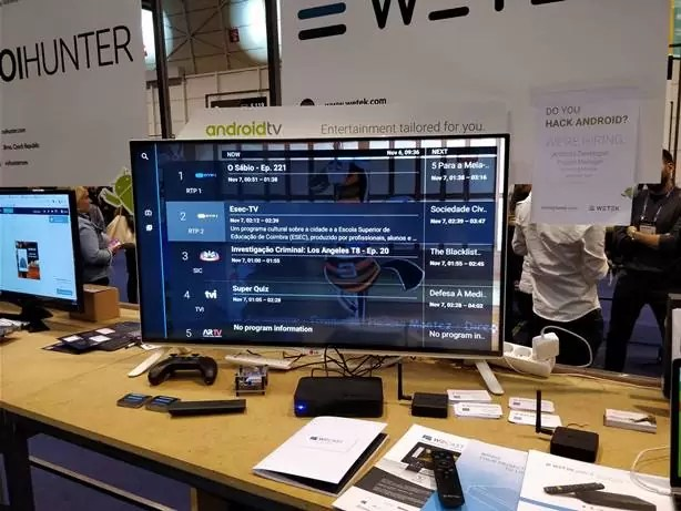 Wetek Android TV