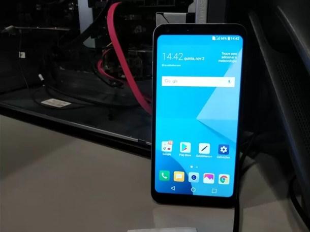LG Q6 as primeiras impressões 2