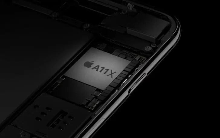 Apple A11X será o primeiro CPU octa-core da empresa 1
