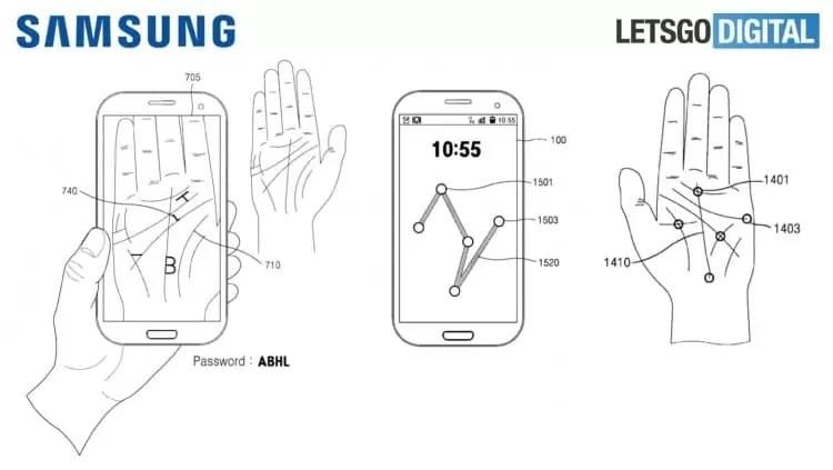 Futuros equipamentos Samsung com nova autenticação pela palma da mão 2