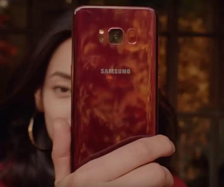 Samsung Galaxy S8 ganha nova variante exclusiva Burgundy Red 3