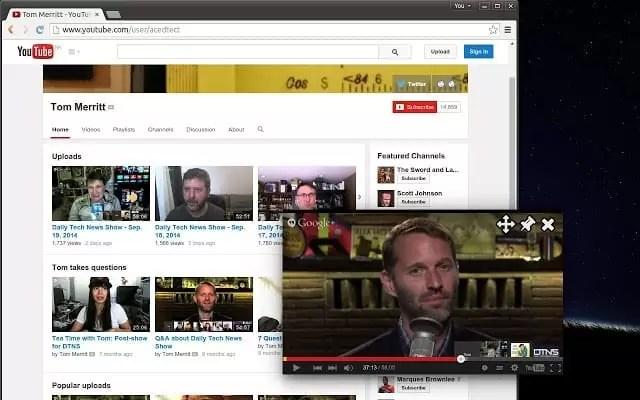 Atualização YouTube TV adiciona Picture-in-Picture no Oreo 2