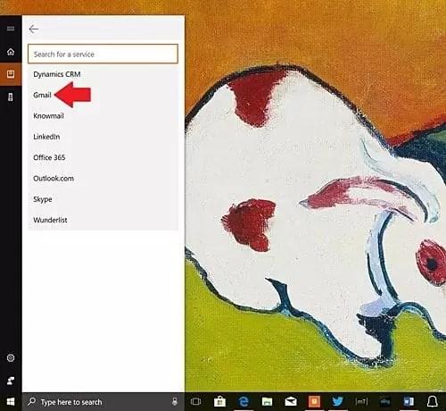 Cortana Gmail