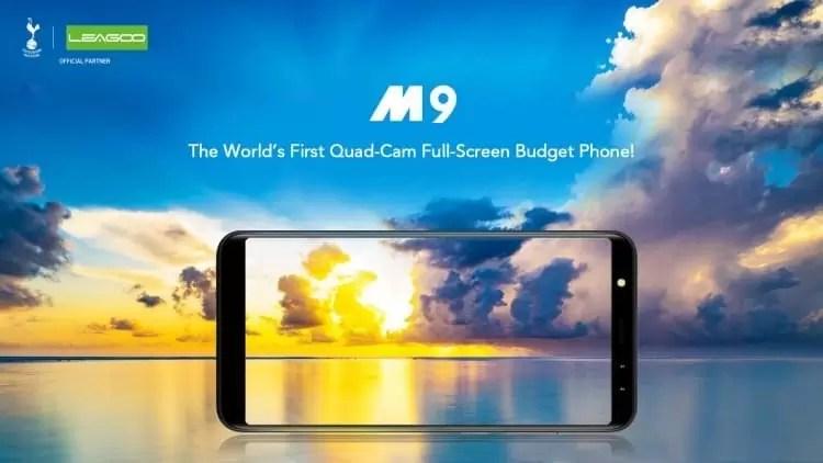 LEAGOO M9 o primeiro telefone acessível com 4 câmaras 1
