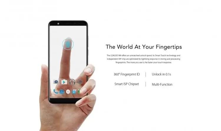 LEAGOO M9 Pré-venda: 20% de desconto na compra do primeiro telefone de orçamento de ecrã inteiro 6