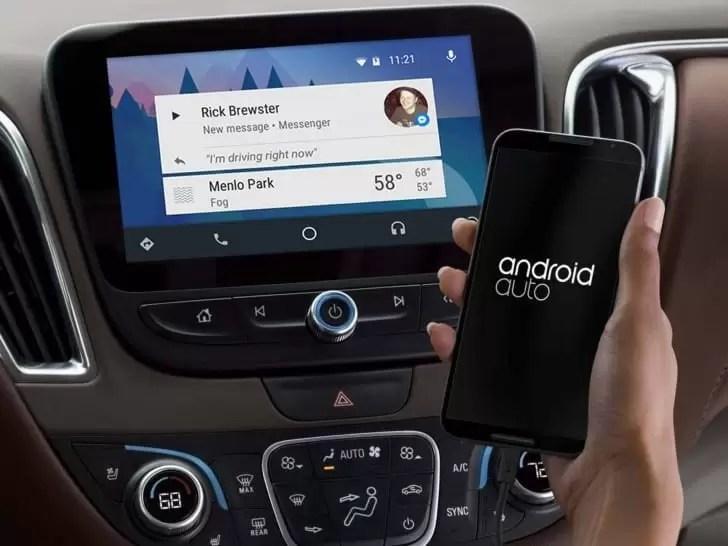 Já se pode usar o Android Auto sem fios 1