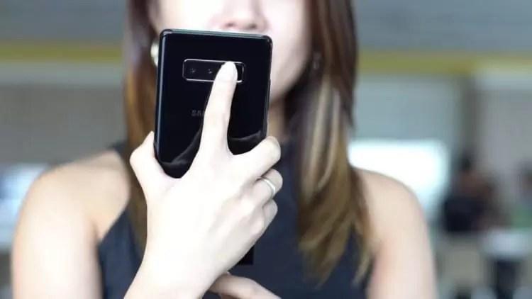 Galaxy S9 apresentará um Scanner de iris muito superior ao modelo anterior 1