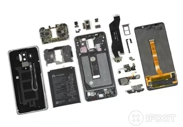 Huawei Mate 10 Pro esventrado pela iFixit mostra o coração do monstro 2