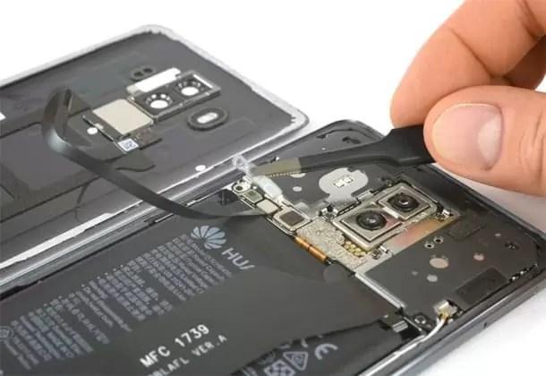 Huawei Mate 10 Pro esventrado pela iFixit mostra o coração do monstro 7