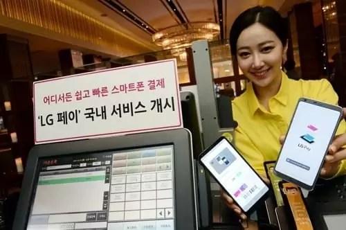 LG Pay vai estrear-se nos telefones de gama média da empresa com o K10 (2018) 1