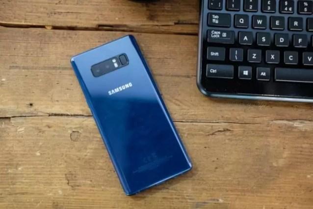 Samsung Galaxy Note 8 com novo update de firmware 1