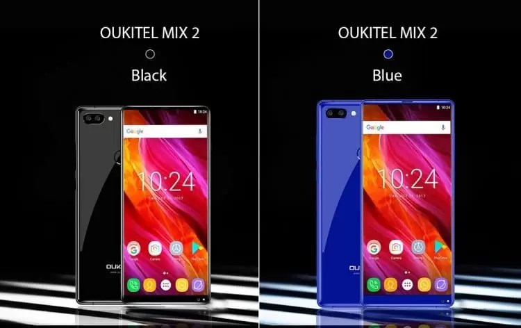 OUKITEL MIX 2 na TOMTOP 171.91€ / R$ 679.66 image