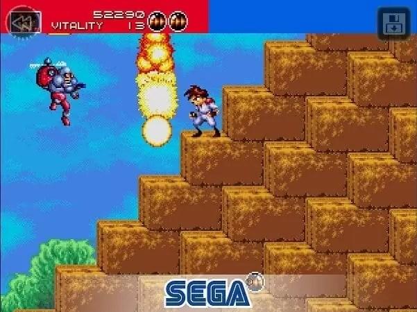Sega lança gratuitamente o Gunstar Heroes Classic para Android 2