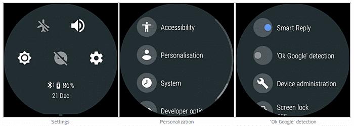 Desligar a detecção Ok Google corrige problemas no Android Wear 2.0 1