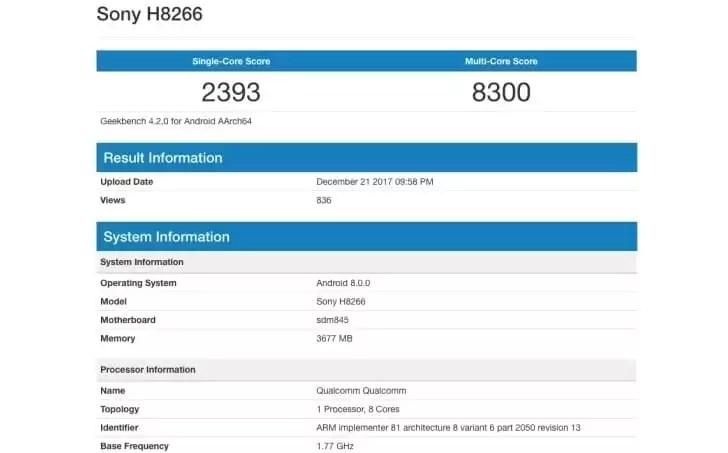 O próximo smartphone Sony Xperia vai ter Snapdragon 845 e Design sem bezels, ainda vai a tempo? 1