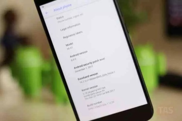 Xiaomi suspende o update do Android Oreo para o Mi A1 1