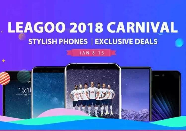 LEAGOO apresenta o seu Shopping Carnival de janeiro - Até 50% de desconto! 1