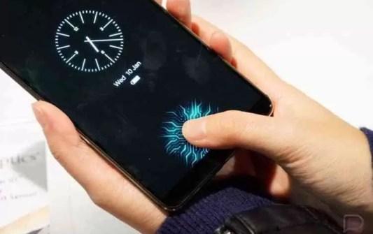 Meizu registou patentes de sensor de impressão digital no ecrã 1