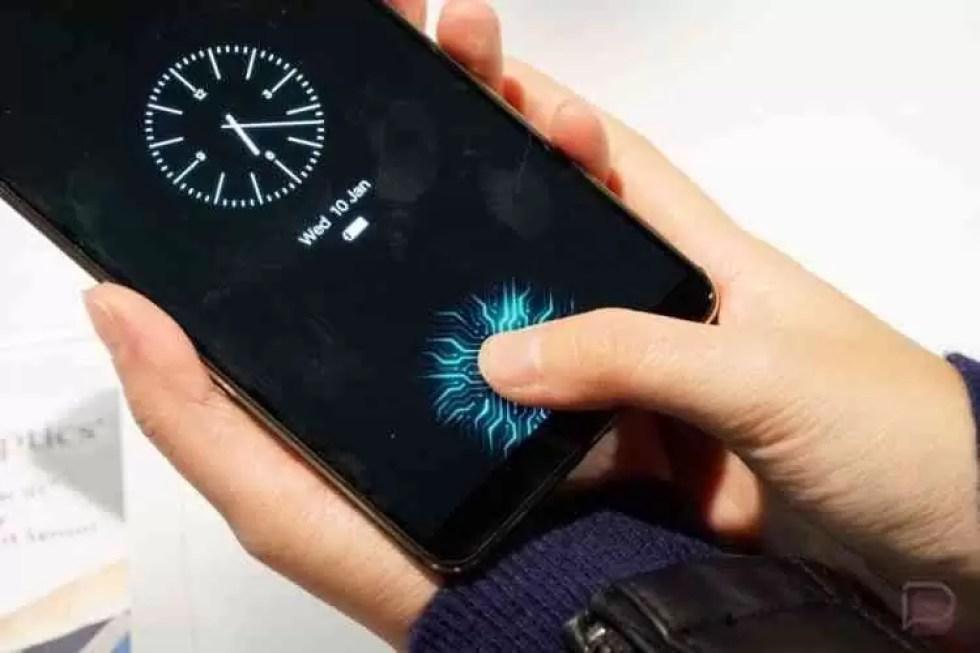 Galaxy S10 com reconhecimento facial 3D e Scan de impressão digital no ecrã 3