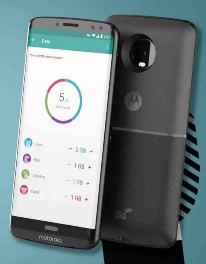 Renders do Motorola Moto Z3 e Moto Z3 Play revelam os seus designs 1