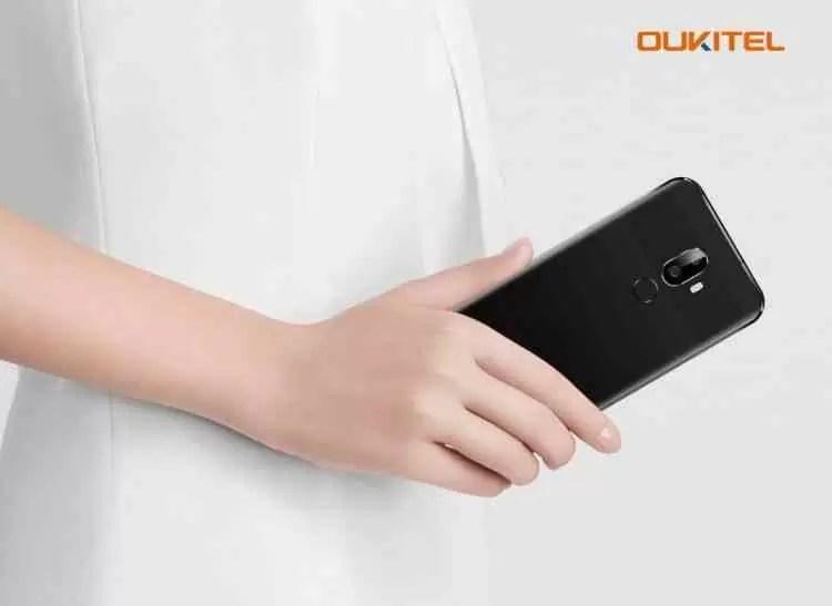 Combinação de iPhone X e Huawei mate 10 pro, OUKITEL U18 será lançado na próxima semana 2
