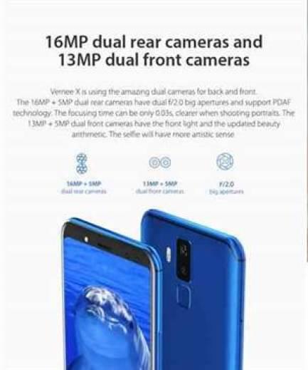 Com 4 câmaras, 4GB RAM, 64GB ROM e ecrã 18:9, Vernee X entra em pré-venda 1