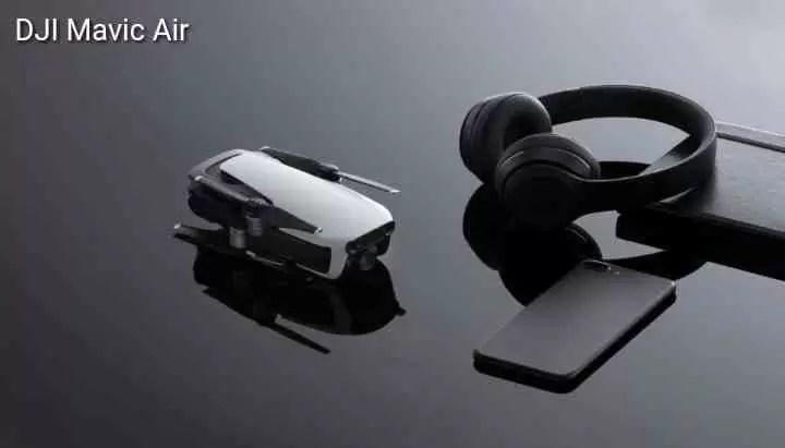 DJI anuncia Mavic Air Drone ultra-portátil Dobrável com câmara 4