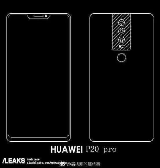 Exclusivo: Huawei P20 não terá headphone Jack e vem com USB-C em todas as variantes 3