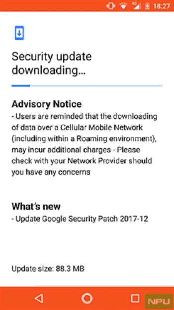 Nova atualização chega ao Nokia 2 com patch de segurança de dezembro 1