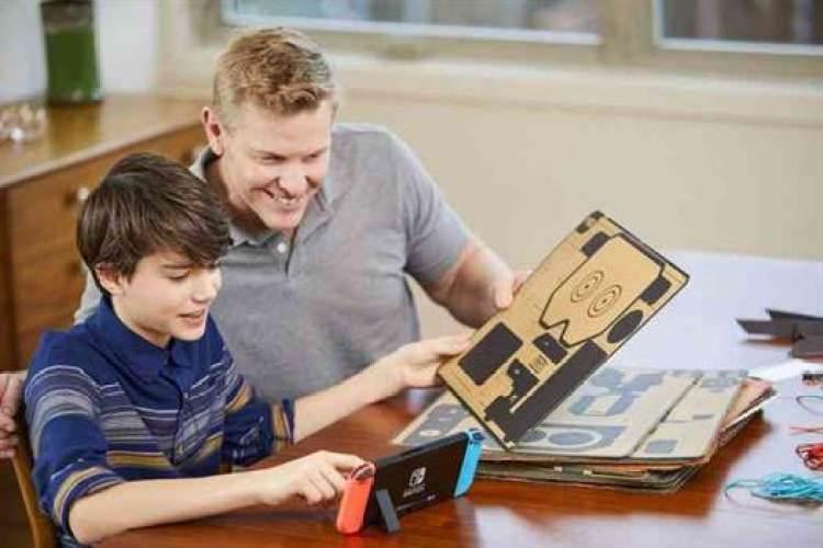 NINTENDO LABO traz inovadora experiência de entretenimento interativo à Nintendo Switch 1