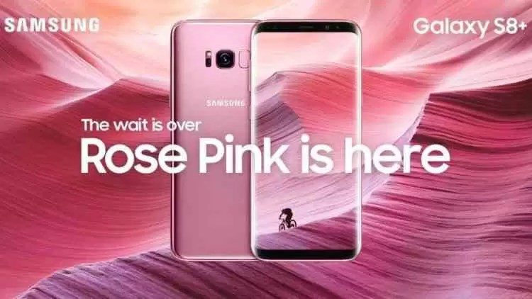 Galaxy S8 e S8 + Rose Pink lançados no Reino Unido 1