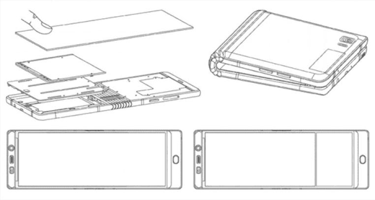 Samsung mostrou o telefone Dobrável 'quase terminado' Galaxy X na CES 2
