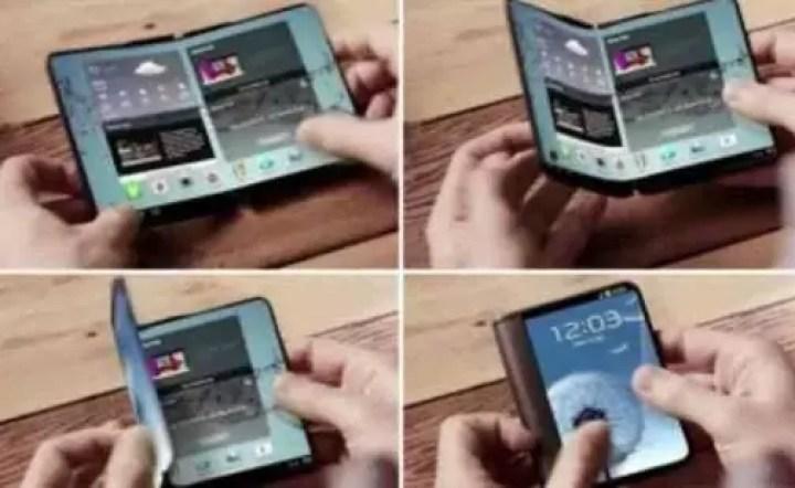 Telefone dobrável da Samsung chega no próximo ano 1